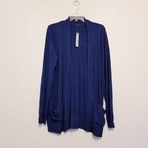 NWT Stitchfix Staccato Royal blue cardigan
